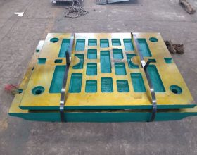 Jaw crusher wear parts