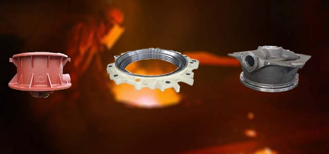 Qiming Machinery Carbon Steel Casting Parts
