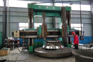 Cone crusher liner Machining
