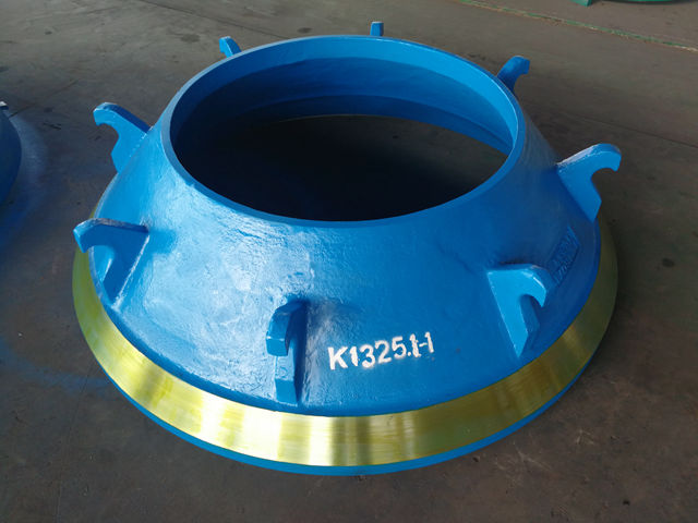 Mn14Cr2 Cone Crusher Wear Parts
