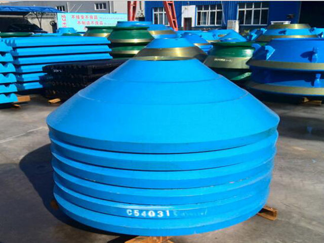 Mn18Cr2 Cone Crusher Wear Parts