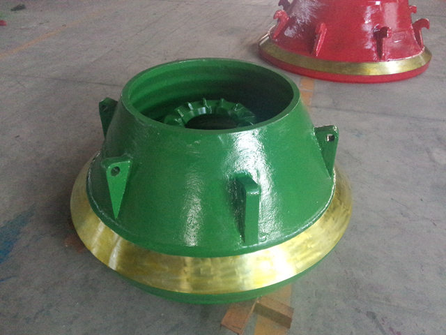 Mn22Cr2 Cone Crusher Wear Parts