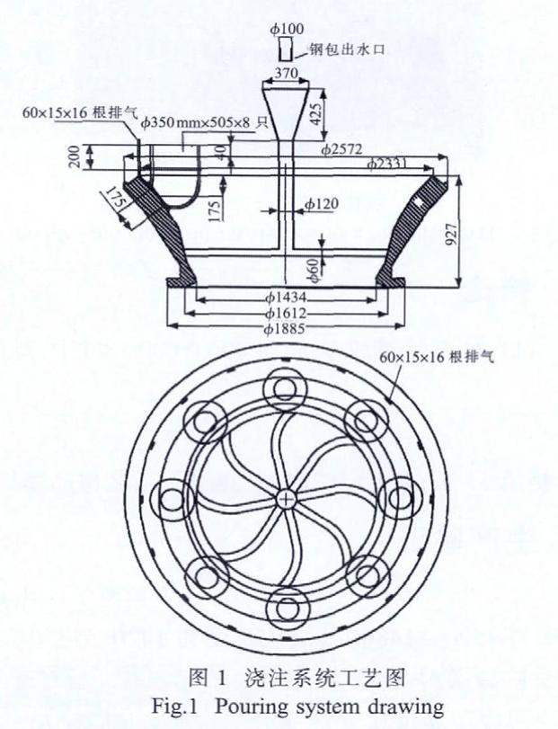 Dibujo del sistema de vertido