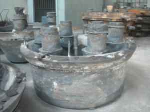 Cone crusher concave after casting