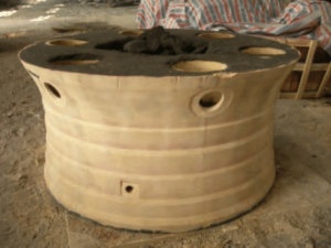 Cone crusher concave down sandbox core