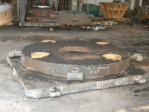 Cone crusher concave upper sandbox