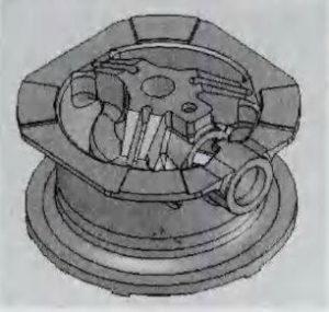 MP800 Cone Crusher Main Frame