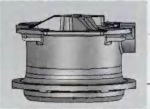 MP800 Cone Crusher Main Frame Parting Plan