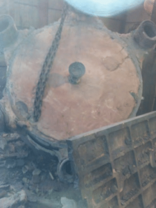 cone crusher mantle after casting