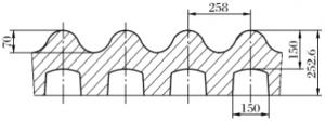 new jaw crusher liner waveform
