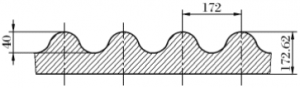 old jaw crusher liner waveform