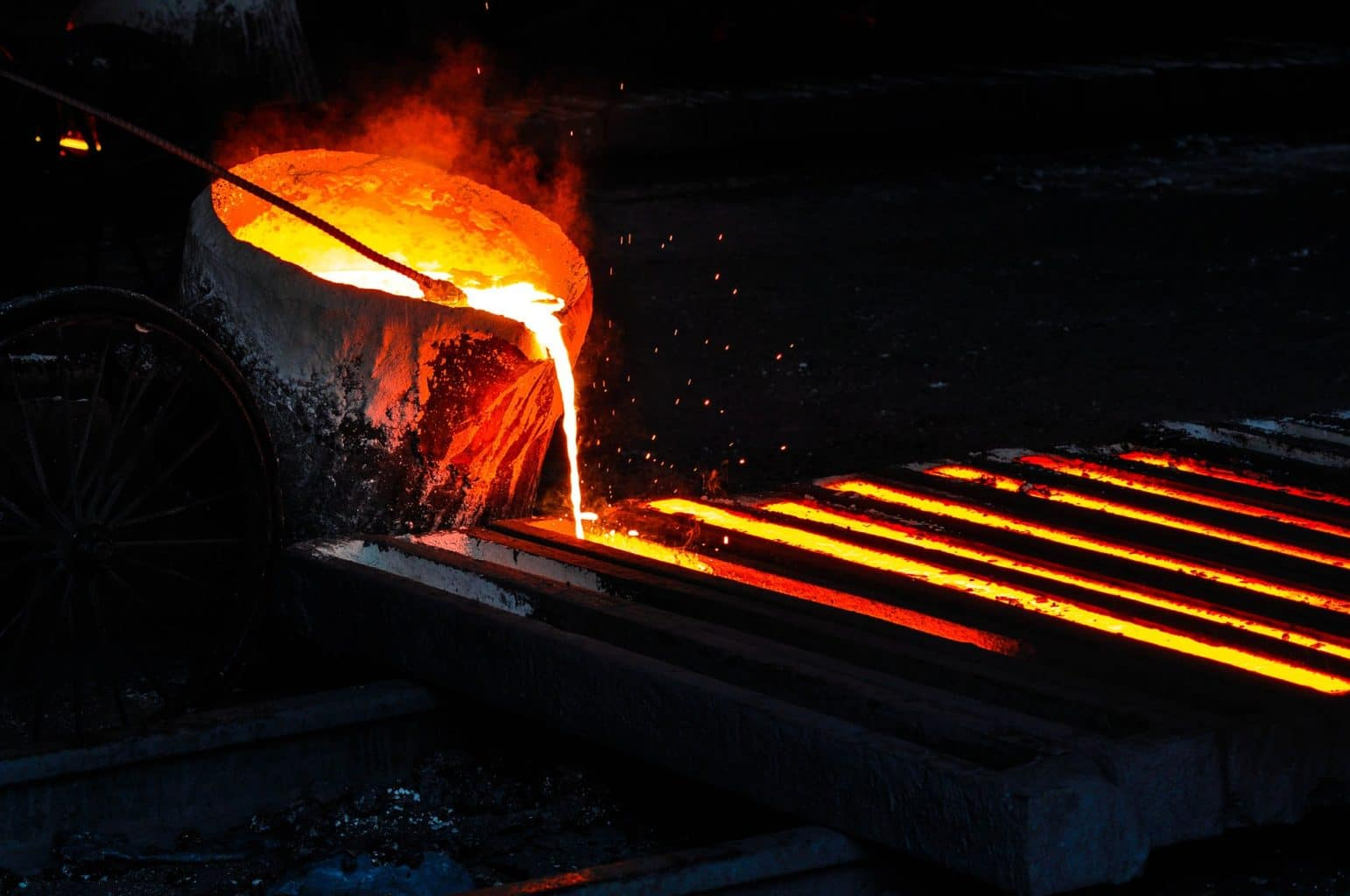 manganese steel casting foundry