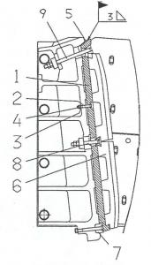 Jaw Crusher intermediate plate