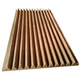 Jaw Plates Wood Pattern
