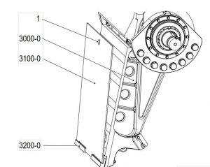 Cambio de las placas de desgaste de la trituradora de mandíbulas