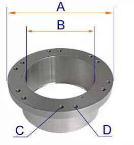 Measure cone crusher spider bushing drawings