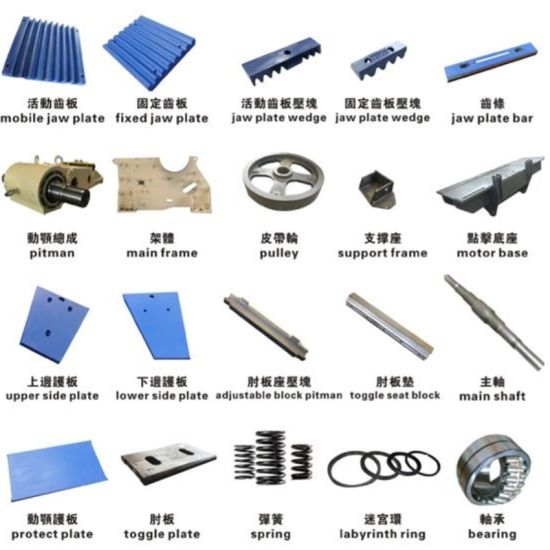 Aftermarket Jaw Crusher Parts