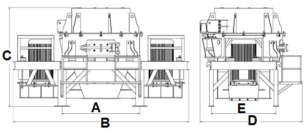 Standard Vertical Shaft Impactor Structure