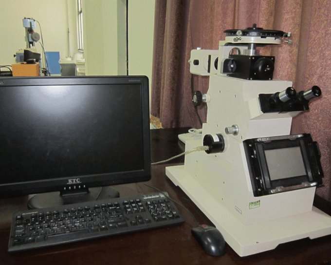 Electronic Metallographic Microscope