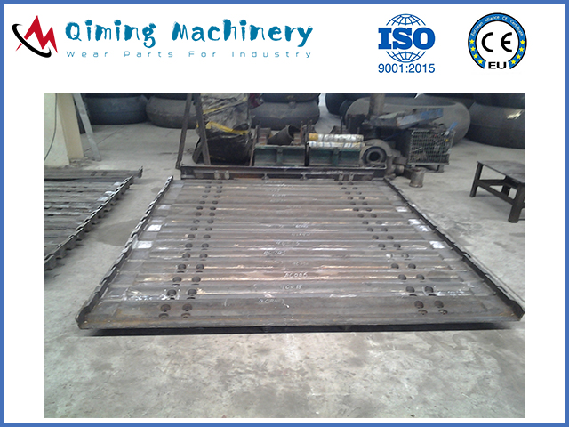 Alloy Steel Apron Feeder Pans By Qiming Machinery