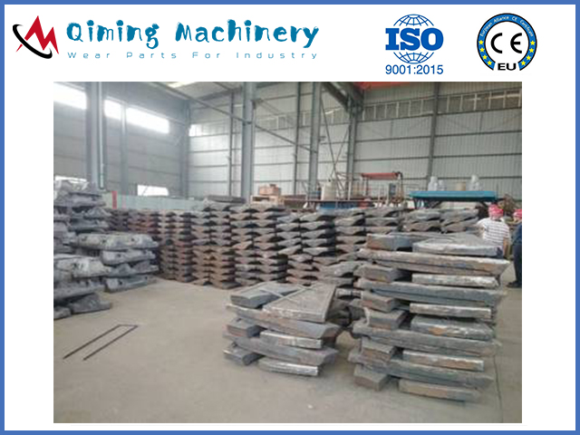 Chrome Moly Steel Mill Liners By Qiming Machinery