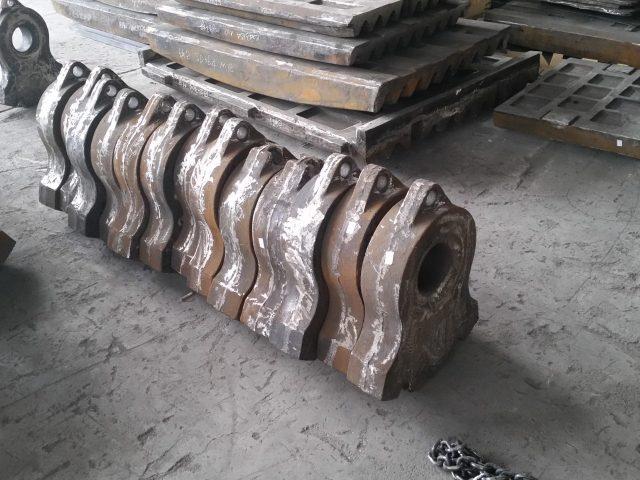 Manganese Shredder Hammers