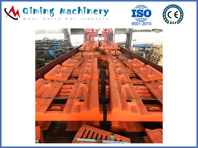 Rod mill liners by Qiming Machinery